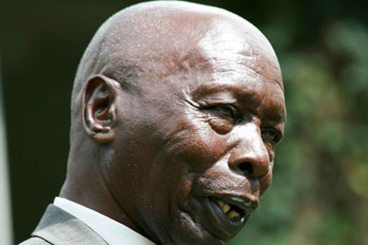 'I am not able to pay 1 billion court fine'- former president Moi pleads