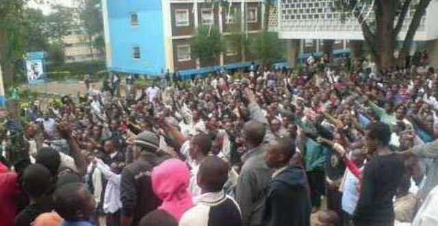 Confusion rocks University students nationwide Mass Demonstrations tomorrow over fees as Moi university students pull out