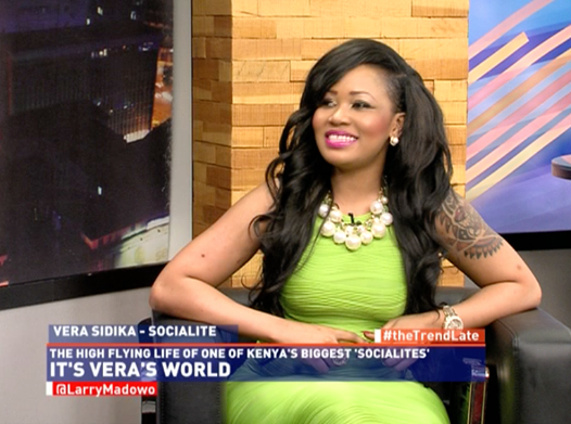 HILARIOUS: Lessons From VERA SIDIKA'S interview with Larry Madowa on the TREND.