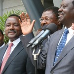 "Raila to Uhuru: CORD did NOT demand ""Mkate Nusu"", we demand ELIMINATION of Corruption and deliver your promise to Kenyans"