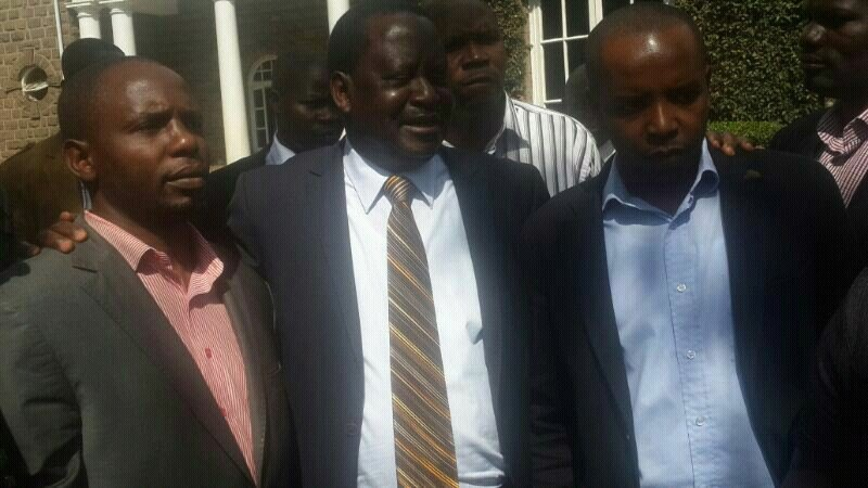 BREAKING:  Raila makes it a smooth SAIL for Bishop Magret Wanjiru son Steve Kariuki  in Mathare by-election