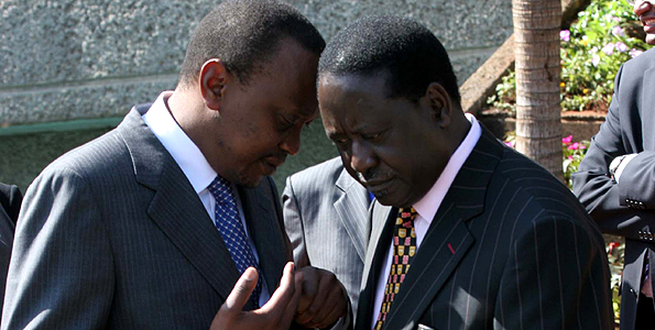 Raila the BABA:  Uhuru WORRIED 'Baba' will be Country's unifying call in 2017