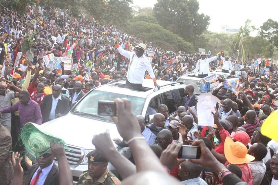AMAZING: Raila's SPEECH at Uhuru Park that he never read due to TIME constraints