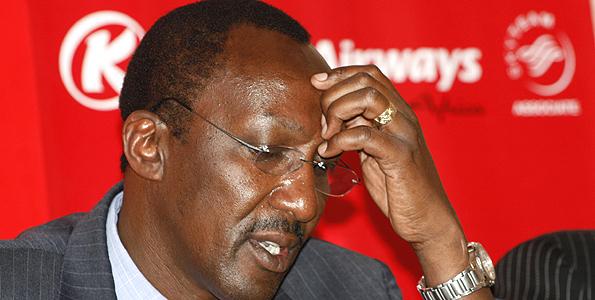 FINALLY: Titus Naikuni 'SACKED' as Kenya Airways Boss, to be replaced by Mbuvi Ngunze