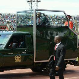 SHAME: Uhuru's new ride looks UGLY like a PRISON SERVICE VEHICLE