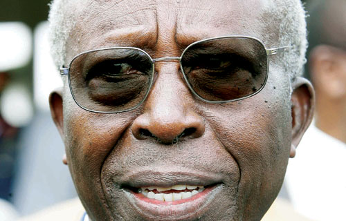 FORGOTTEN Sam Ongeri to land a job as President Uhuru tours Kisii region today