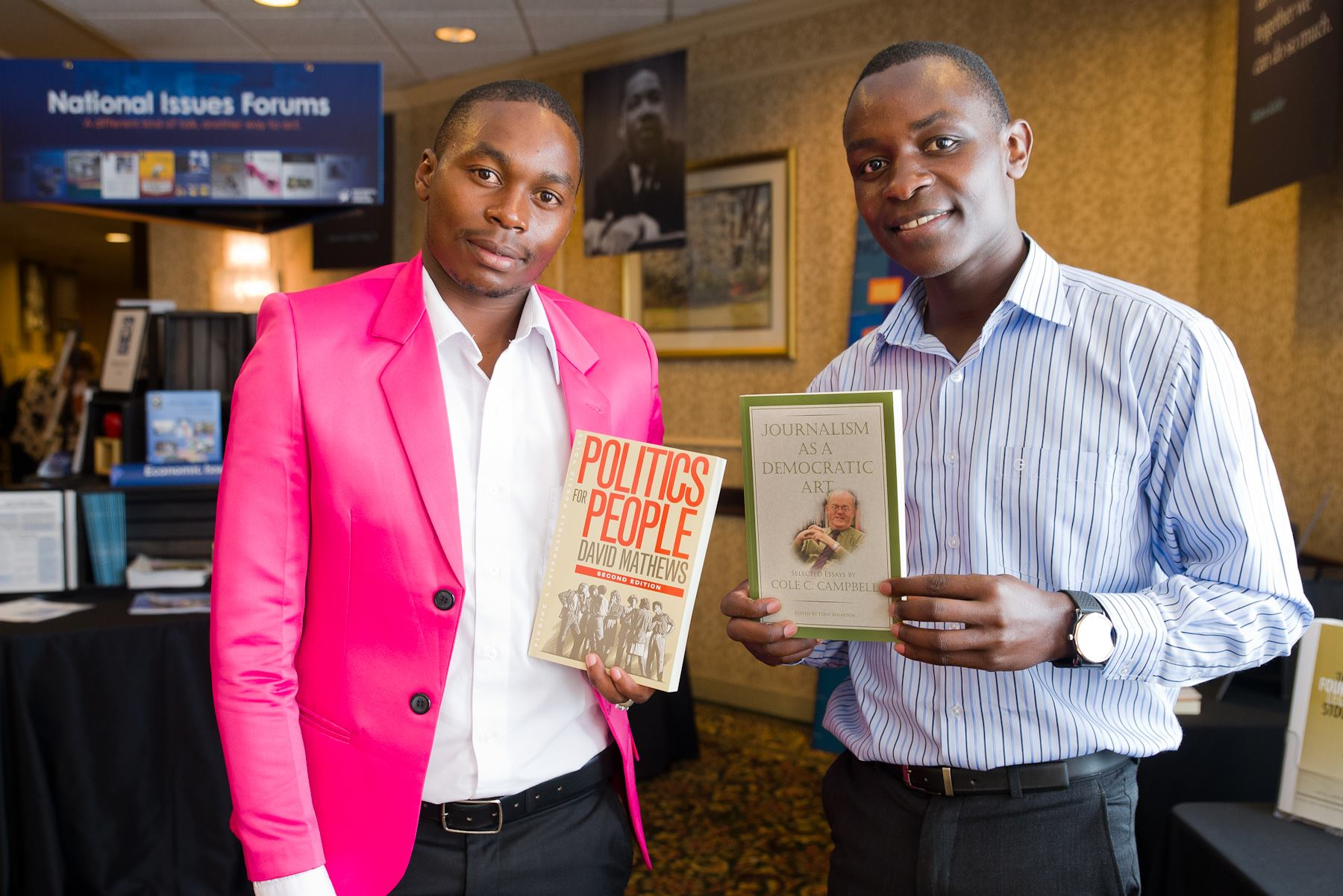 EXCLUSIVE: CORD's lead blogger Dikembe Disembe bags US Award