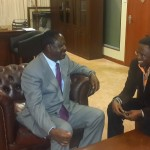 Ababu Namwamba meets Raila ahead of ODM Parliamentary Group Meeting