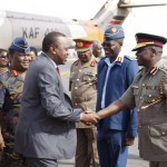 MILITARY CHANGES: Uhuru RETIRES Air Force commander Joff Otieno REPLACES with S. Ng'ang'a Thuita