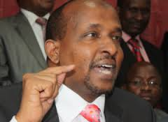 SHOCK: Hon Aden Duale accused of using KDF to trade Charcoal in Kismayu by CORD's Midiwo