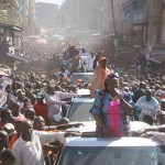 Raila's MASSIVE campaign in Mathare constituency for CORD's Stephene Kariuki