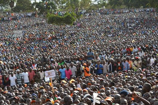 VIDEO: The 1 Million Uhuru Park Crowd that SHOCKED STATEHOUSE !