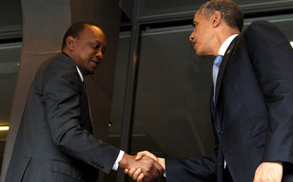 BREAKING: USA President Obama DECLINES to meet Uhuru during the USA Africa Submit in August.