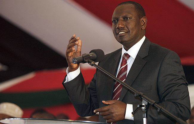 FINISHING RUTO: ICC adopts EVIDENCE Kimemia GAVE to Waki Commission FIXING Ruto