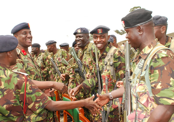 STATEHOUSE in PANIC over Saba Saba, orders KDF to come out of Barracks to GUARD statehouse