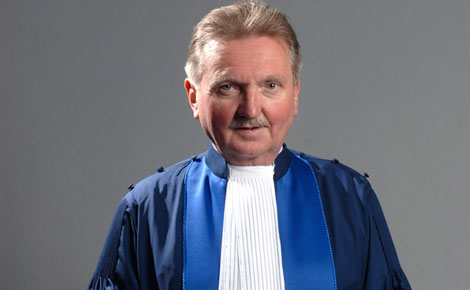 BREAKING: Pro Uhuru and Ruto  ICC Judge Hans-Peter Kaul is DEAD!