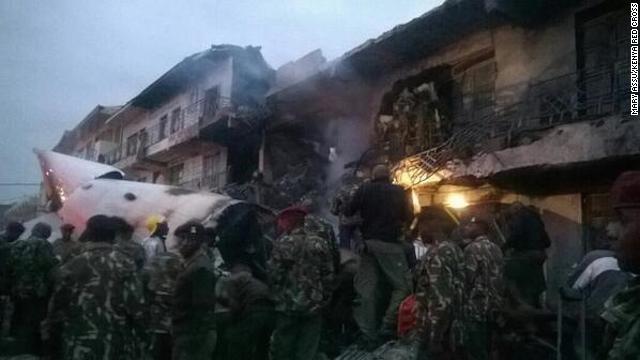 BREAKING: Cargo plane crashes into building