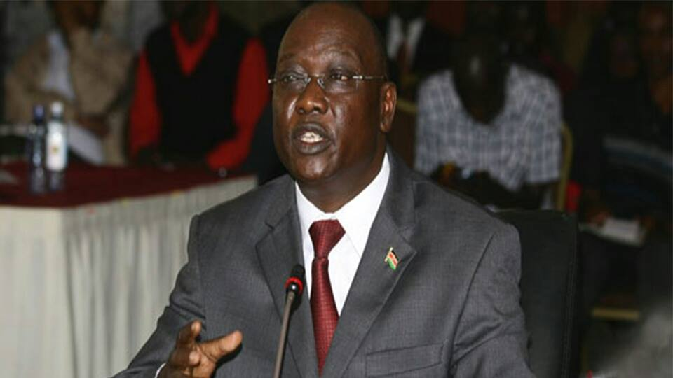 IG Kimaiyo Rubbishes Human Rights Watch Report