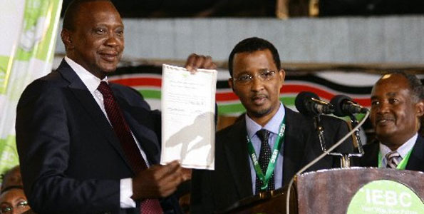 Shocking: Kshs. 2 Billion paid out irregulary from Uhuru's office DURING Raila's Election Petition !