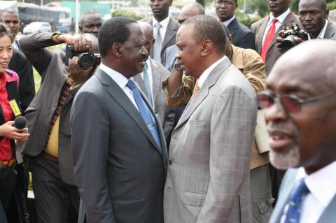 WILL RAILA EVER BEAT UHURU?