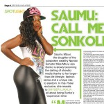 Senator Mike Sonko now WARNS daughter Saumu to KEEP OFF media