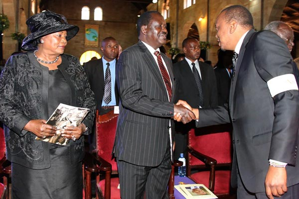 Uhuru met Raila and FELT TOUCHED! nearly APOLOGIZED for all the bad things …