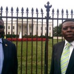 HILARIOUS: Eugene Wamalwa's NEW ROLE while in Washington USA