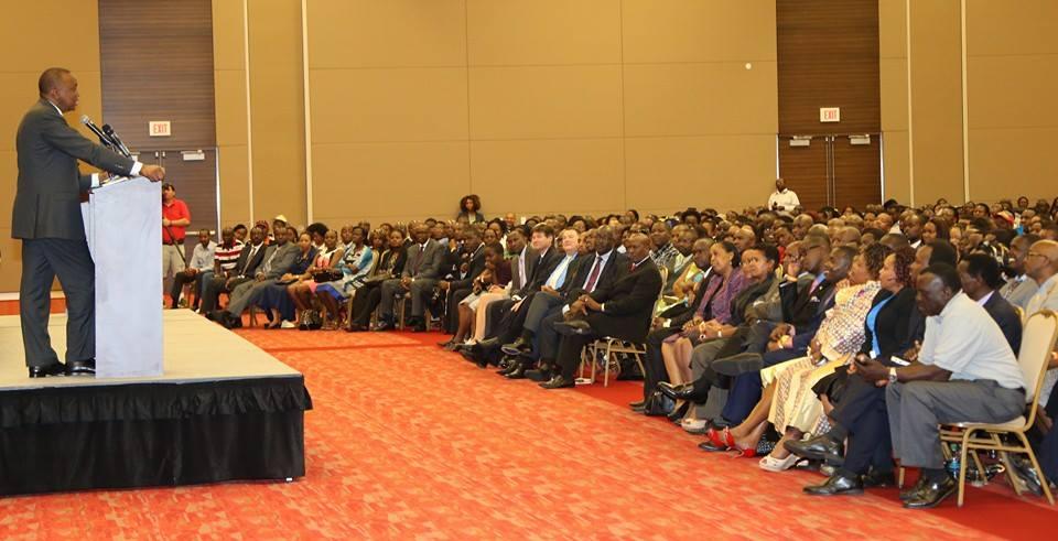 President Uhuru opposes Referendum calls in USA