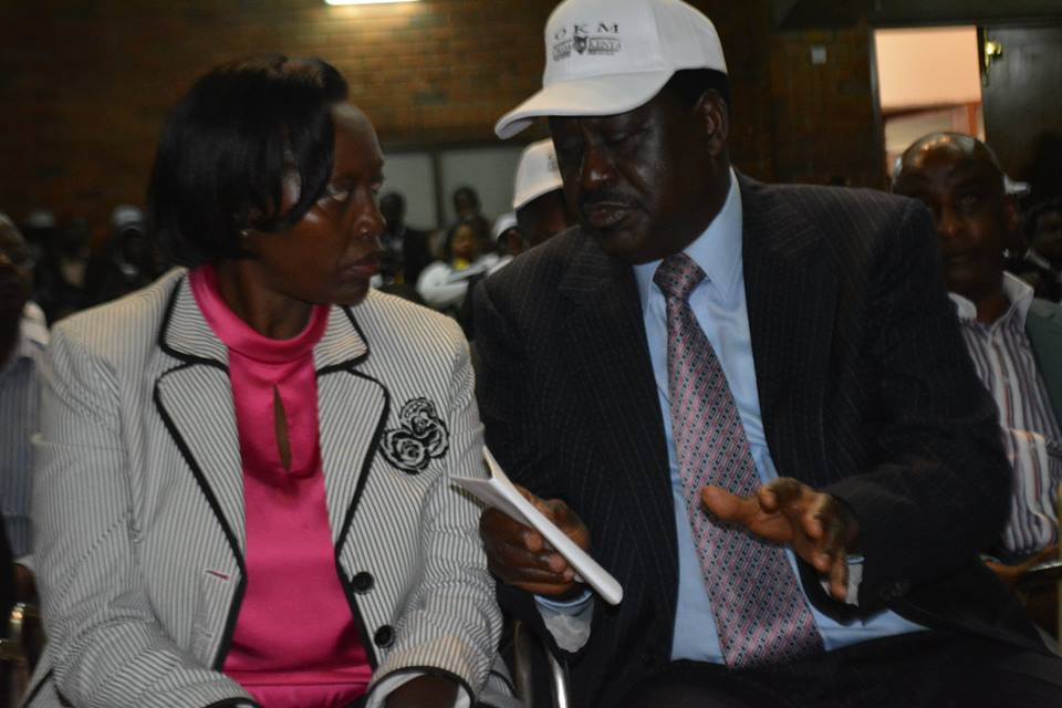 Martha Karua Joins Referendum push