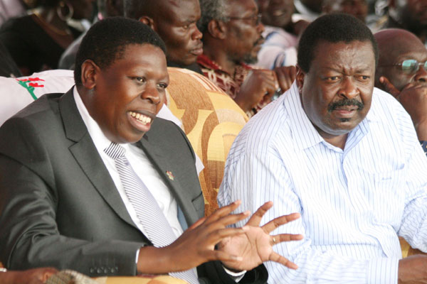 Embarrasing: EUGENE Wamalwa and Mudavadi MISS OUT again on Uhuru's appointments