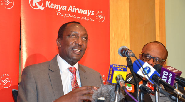 Uhuru ASHAMED again as KQ suspends flight to parts of West Africa !