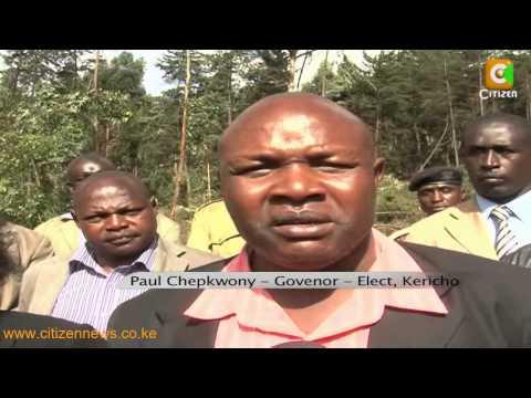 Kericho governor Prof Chepkwony BLASTS Uhuru and Ruto says he will support Raila's REFERENDUM