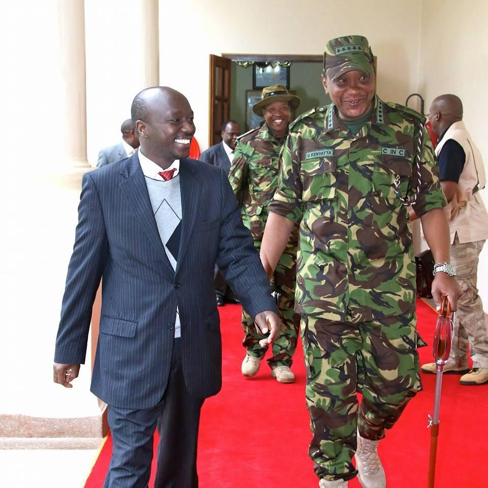 Uhuru Kenyatta GOES FULL MILITARY !