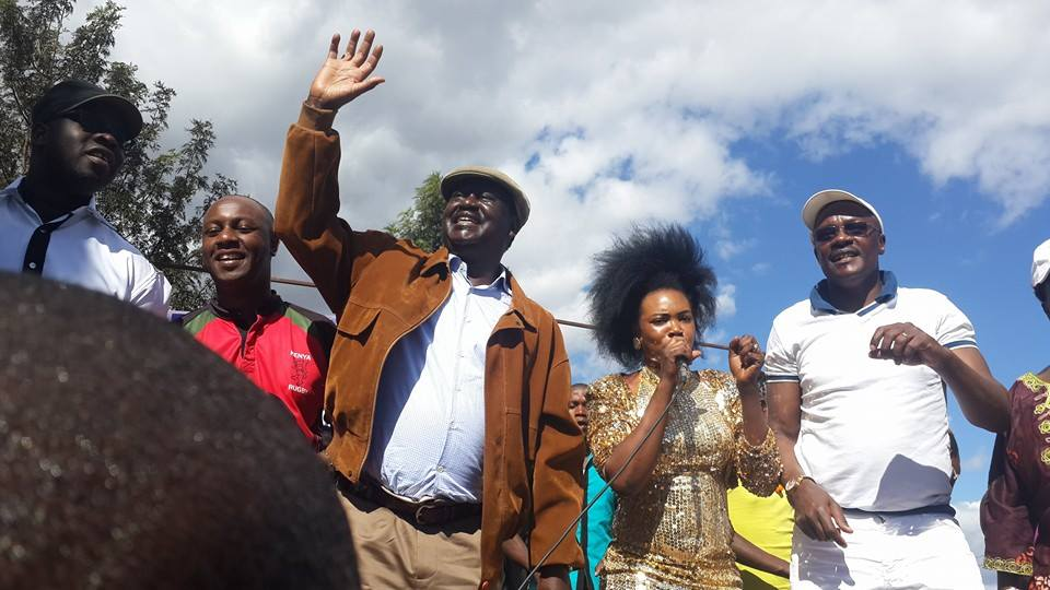 Raila at GROUND ZERO: Uhuru MUST RESPECT the wishes of Jubilee leaders supporting REFERENDUM