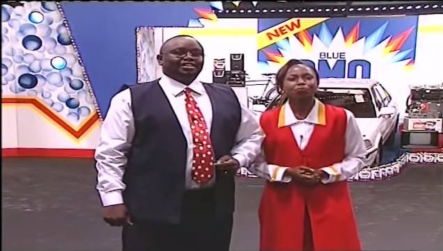 In Memory of the late Regina Mutoko: Omo Pick a Box show from the 90's