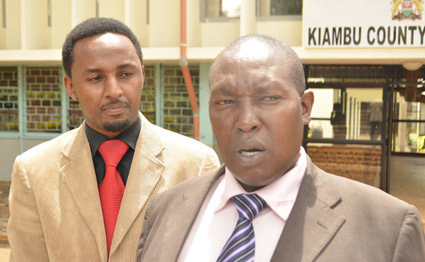 Kiambu MCAs REJECT Ng'eno appointment as Chief Officer Transport for being an 'OUTSIDER'