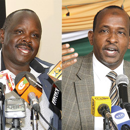 Governor Rutto NEARLY PUNCHED Adan Duale for insulting him 'pesa sio ya mama yako'