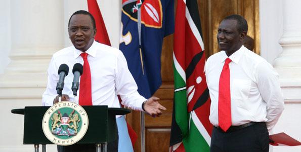 Uhuru Kenyatta and William Ruto, WHEN SHALL YOU?