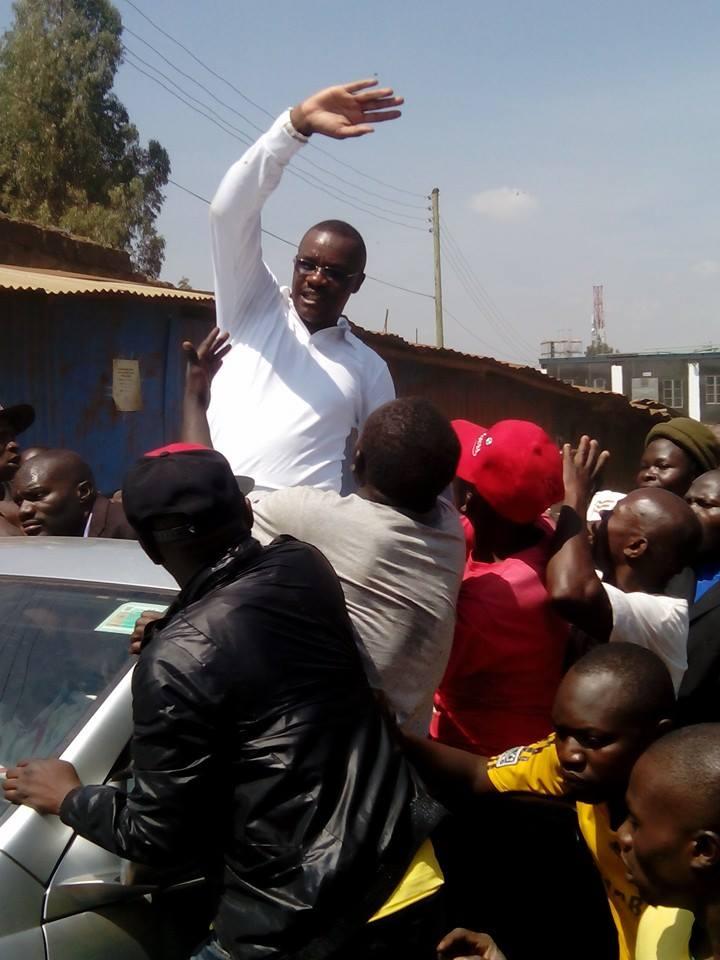 Former Raila Aide Eliud Owalo ROBBED in Kibera