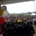 AMAZING: Thousands turn up at Isaac Ruto and Governors LAUNCH of pesa mashinani signature collection