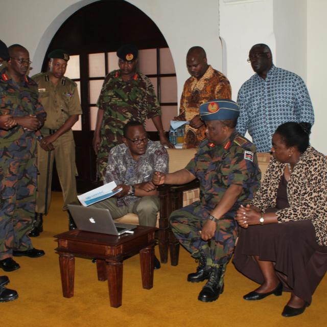 Uhuru Kenyatta's SITUATION ROOM as compared to Barack Obama