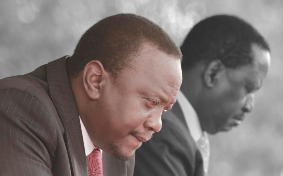 Uhuru now BEGS Raila to have DIALOGUE as mt Kenya join REFERENDUM TRAIN