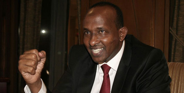 'I came, I saw and I conquered, I thank Uhuru for everything'- Hon Aden Duale