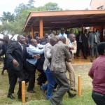 ODM will INVESTIGATE the EJECTION of Magerer Langat from party offices says SG Prof Nyong'o