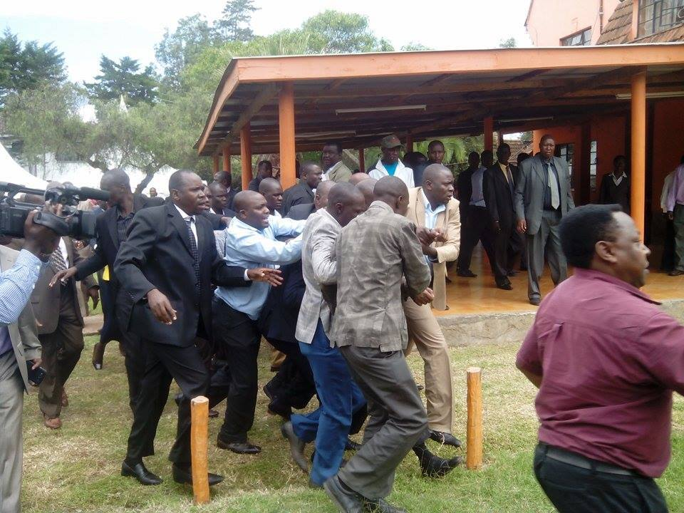 BREAKING: ODM Executive Director Magerer Langat EJECTED from Parliamentary Group at Orange House