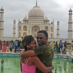 AMAZING: PHOTOS of Ababu Namwamba and WIFE in India, hapa ndio IEBC's BVR kits imetufikisha !