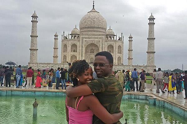 AMAZING: PHOTOS of Ababu Namwamba and WIFE in India, hapa ndio IEBC's BVR kits imetufikisha !
