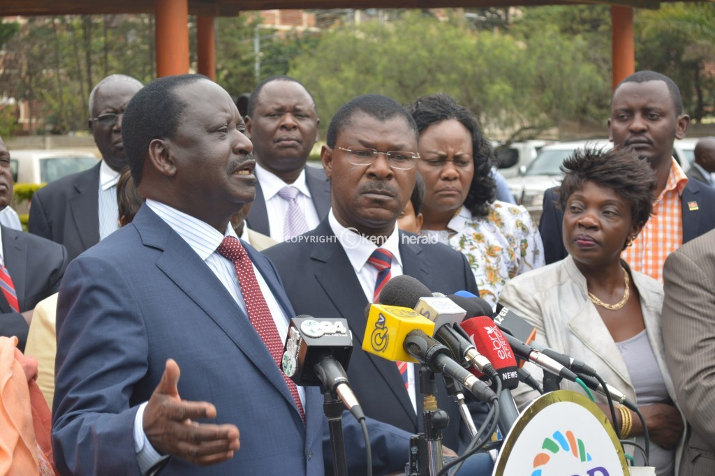 BREAKING: Raila DEMANDS Uhuru government to LIFT  Lamu curfew IMMEDIATELY
