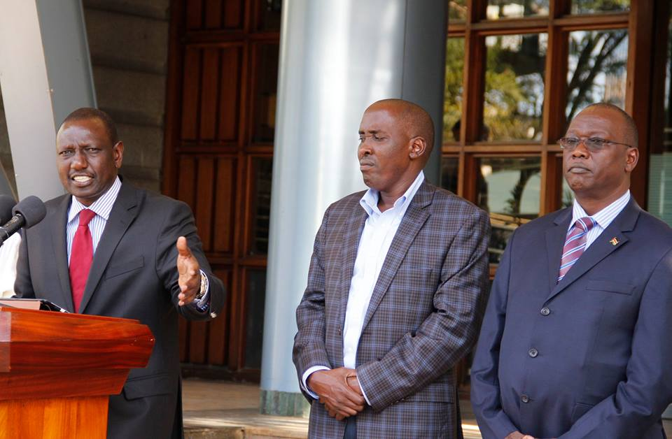 DP Ruto says KDF KILLED 100 TERRORISTS involved in Mandera KILLINGS, but no proof offered