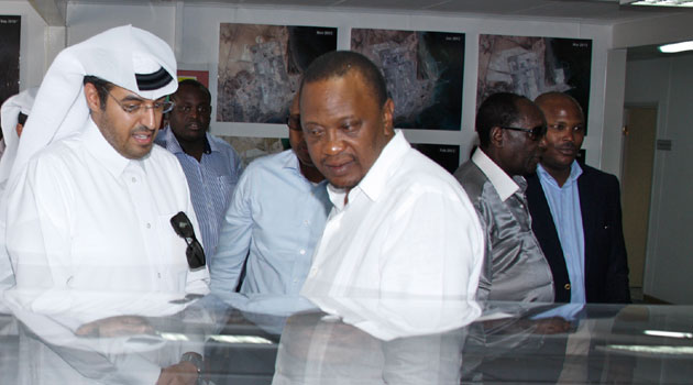 WAS President Uhuru was RELAXING WATCHING Formula One in Abu Dhabi after Mandera KILLINGS happened?